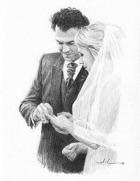 wp-lg newlyweds drawing