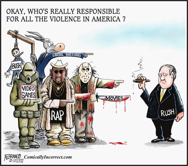 Rush To Judgment (Cartoon)