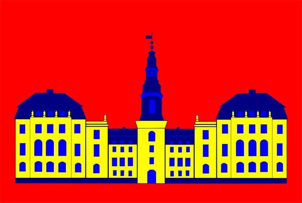 christiansborg yellow red bg