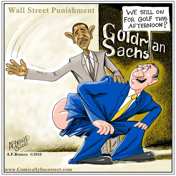 Goldman Sachs Punishment Cartoon