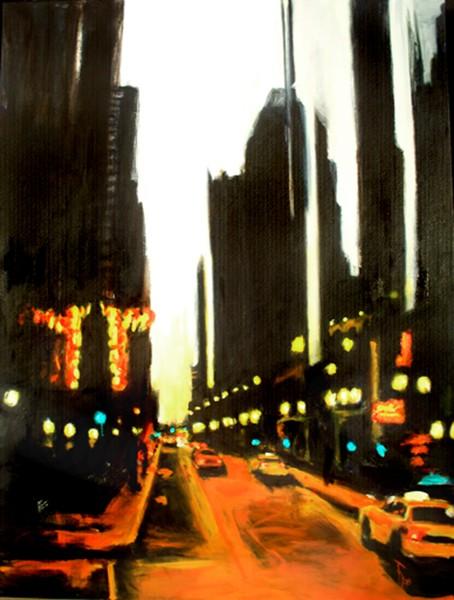 Twilight in Chicago