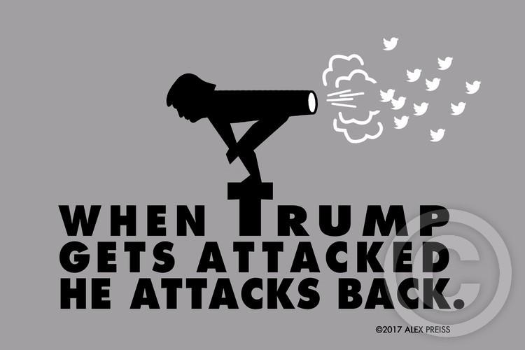 POTUS Trump Attacks Back.