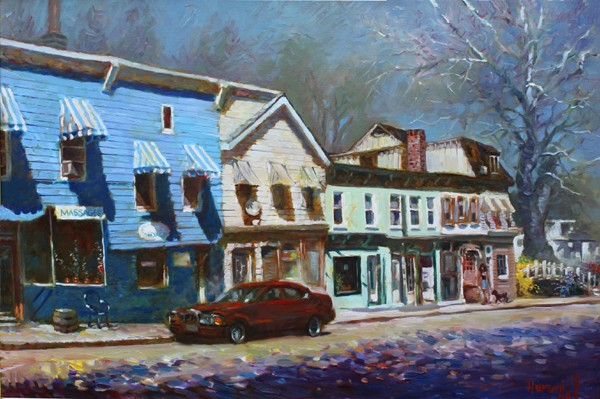 Nyack, Blue House