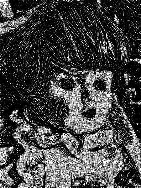 Doll Stippled