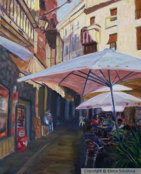 The street of Toledo