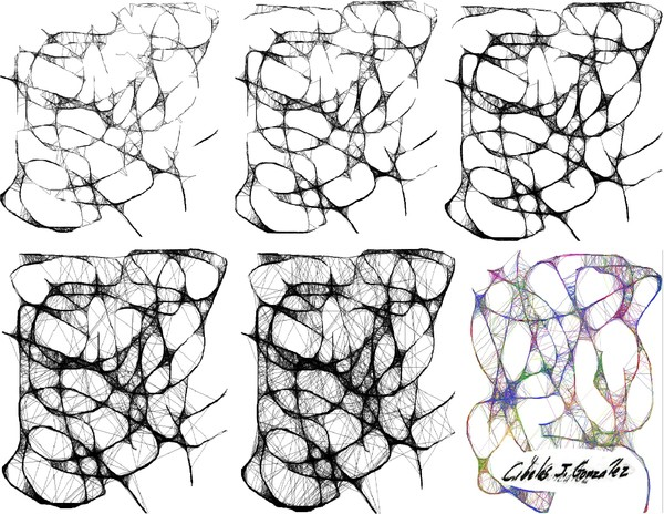 Evolution Of A Scribble