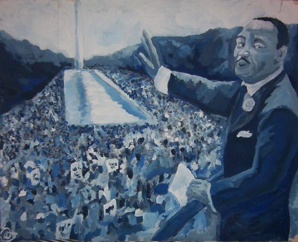 MLK in Blue