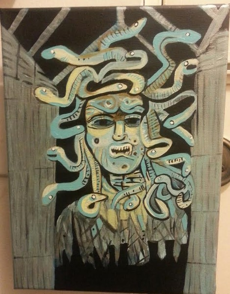 Haunted Mansion Medusa for Celeste