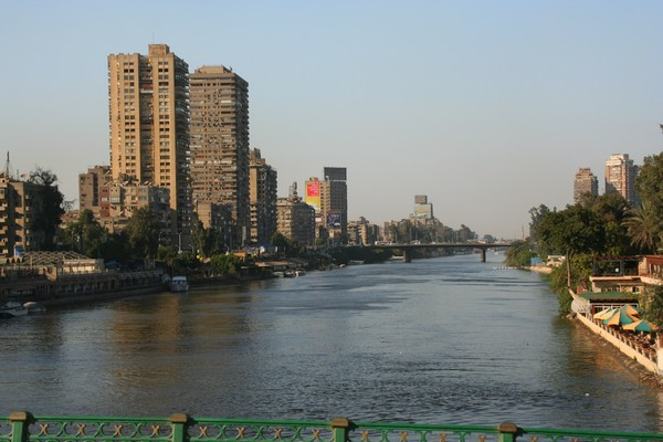 Cairo Skyline along the Nile