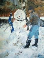 Making of a Snowperson