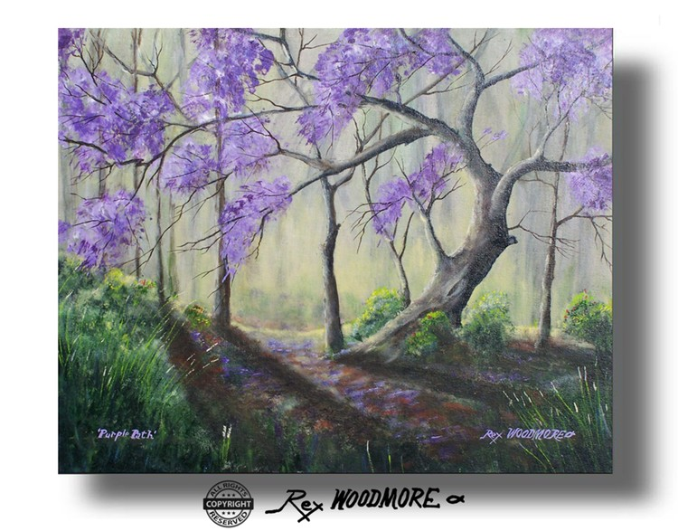 SOLD Purple Path