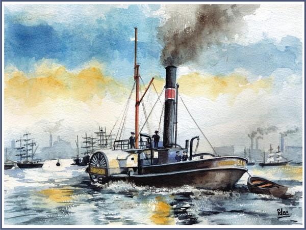 Paddle-tug