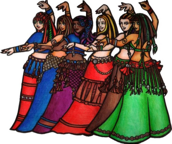 Tribal Line - Belly Dance