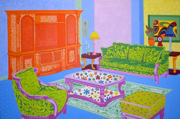 Psychedelic Living Room