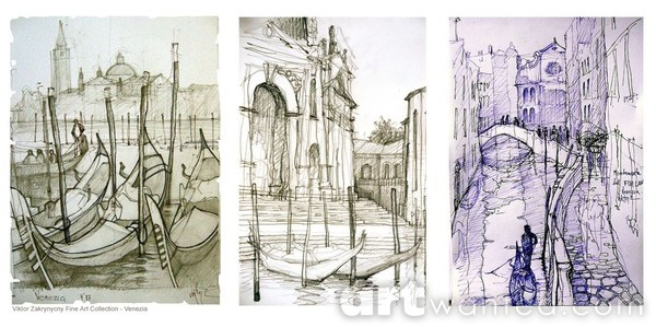 Drawings from Venice