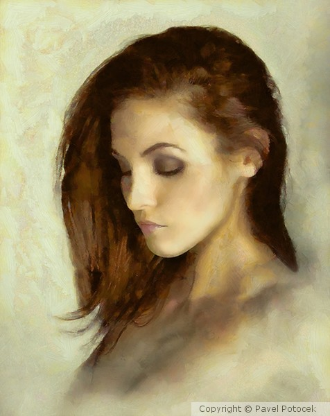 Portrait of the ballerina