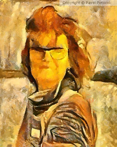 Romanka portrait variation III