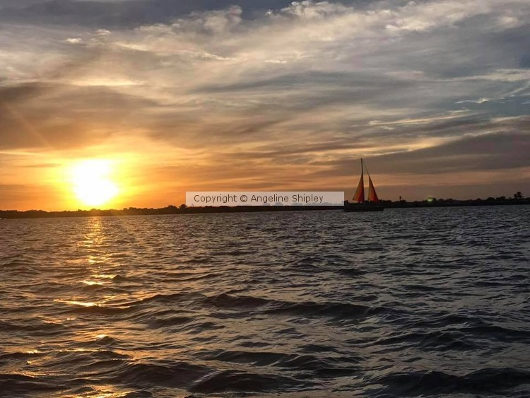 Lake Time Sunset