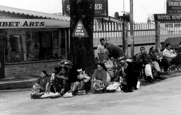 Darjeeling Street Scene