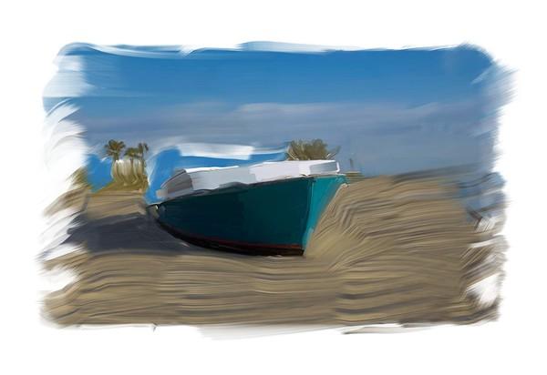 Artist Oil Boat