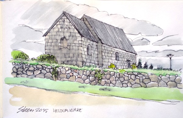 Church near the Westcoast of Jutland