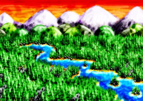 The Sierra Mountains