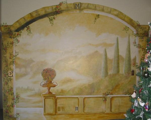 Italian Inspired Mural