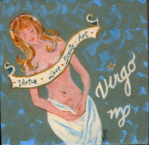 Virgo the Virgin Sunsign