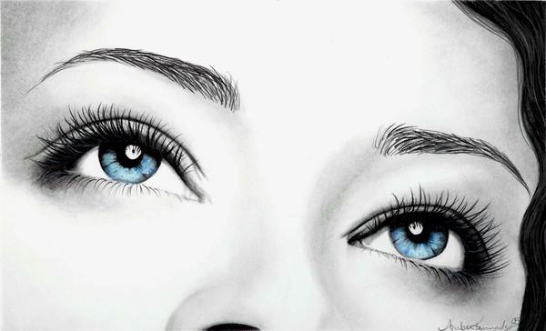 Stunning Blue Eyes