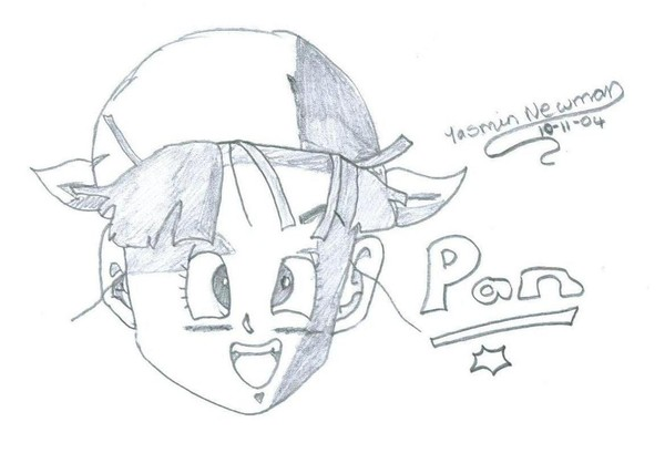 Pan (DB GT) sketch