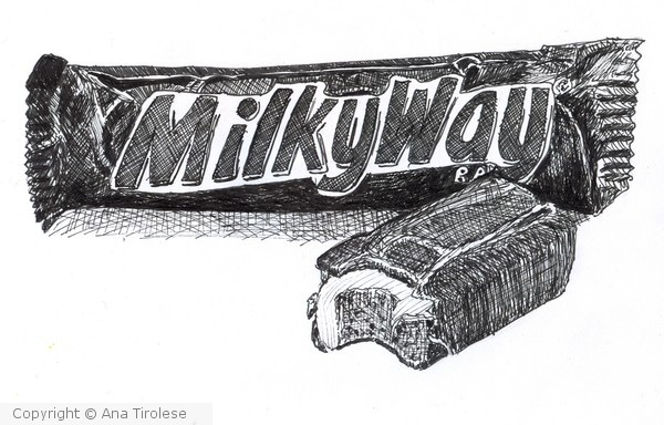 642 Things to Draw #36 - The Milky Way