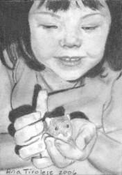 Annie's Little Friend - ACEO