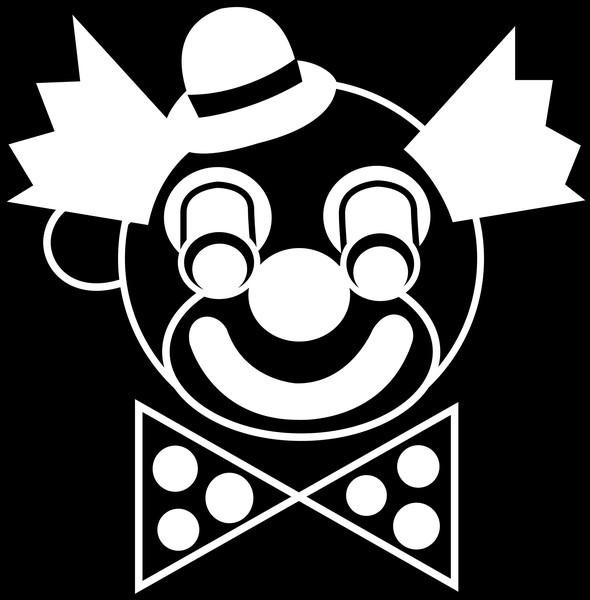 Clowns Eyes black background Whimsical Eyes