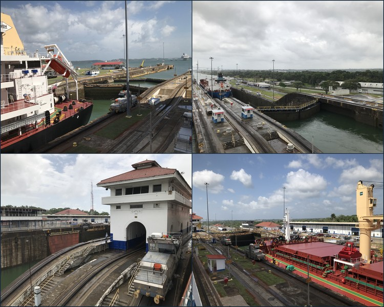 Panama Canal Gatun Locks