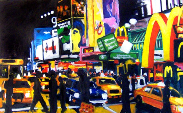 NYC Times Square II (The Temple of M)
