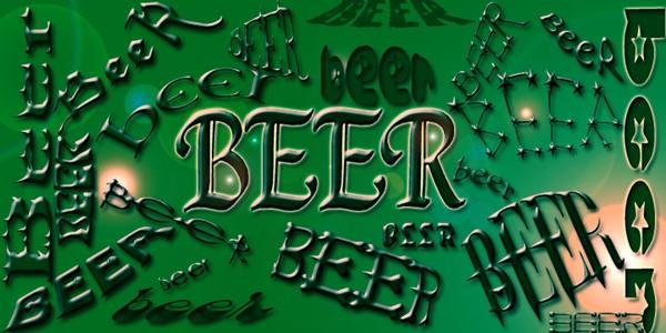 BeEr*beer*BEER Poster