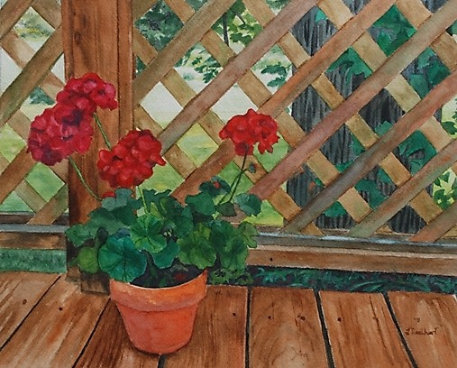 View from a Deck by artbylmr on Total Art Soul