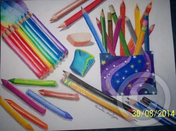 Colored Pencil Collection