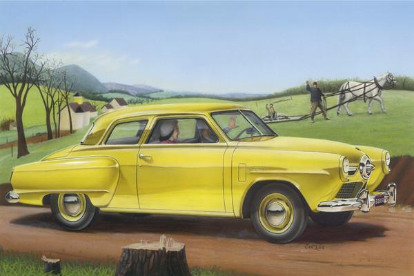 50 Studebaker Champion Airbrush Painting Art