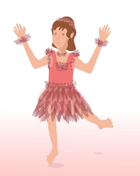 Happy Little Ballerina