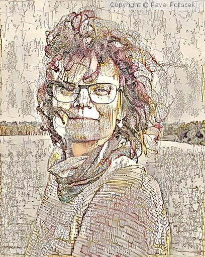 Romanka portrait variation XXII