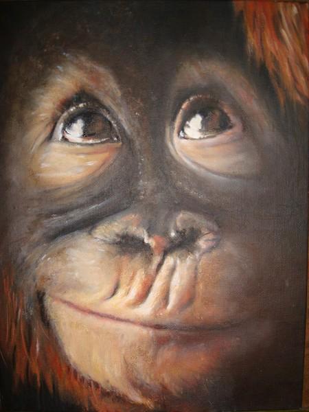 Monkey:  Secret Thought