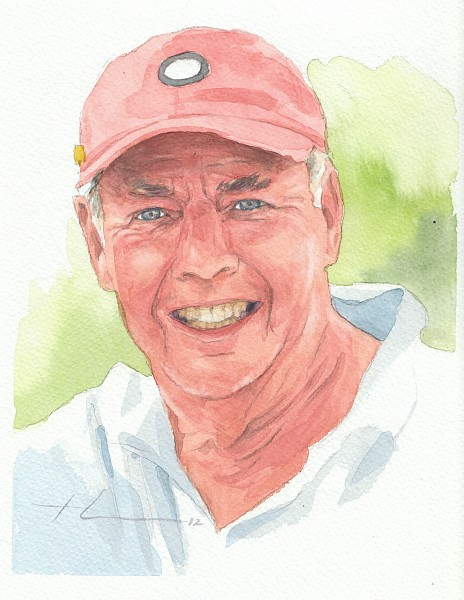 sunshine dad watercolor mike theuer
