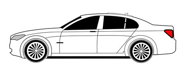 BMW 7 White 2013  Kopi (3)