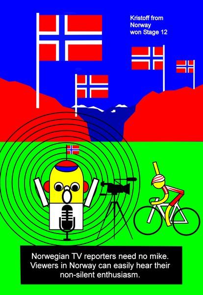 tour de france 2014 stage 12 kristoff norway