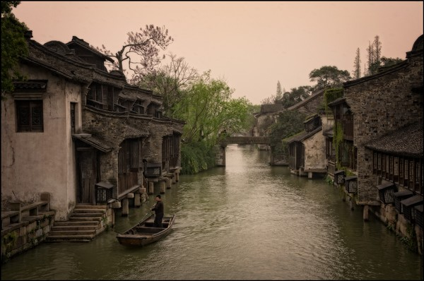 Ancient Water Towns in the Suzhou area