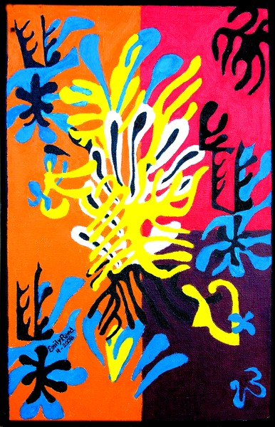 Inspired by Matisse's Mimosa