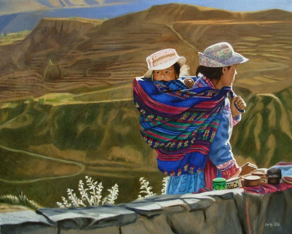 Mother and Child, Peru