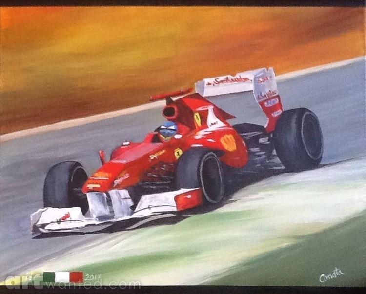 F1 Ferrari 2017