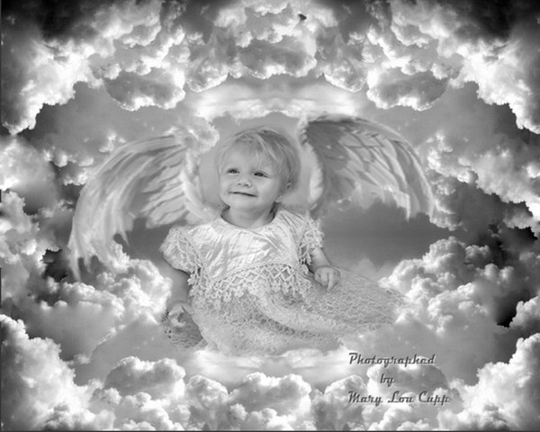 Winged Baby Angel
